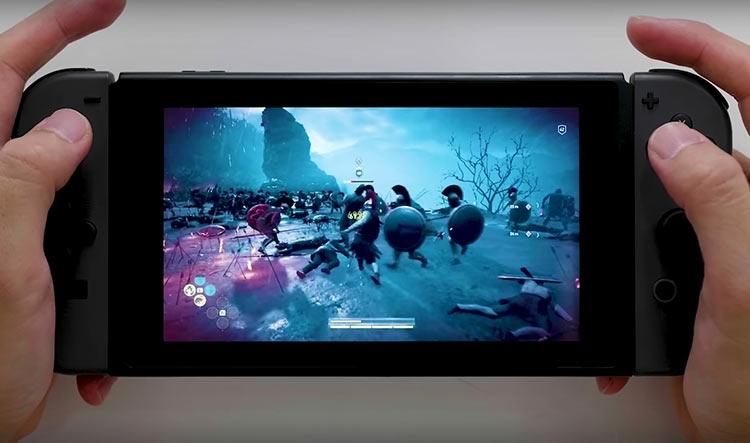 """Assassin's Creed Odyssey появится на Switch в Японии, но только как облачная игра"""""""