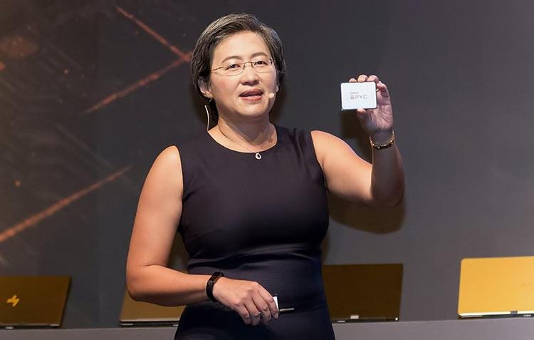 """7-нм чип AMD EPYC выдаёт невероятные 12 500 очков в многозадачном тесте Cinebench"""""""
