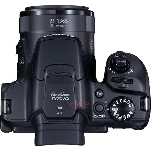 "Рассекречен суперзум Canon PowerShot SX70 HS"""