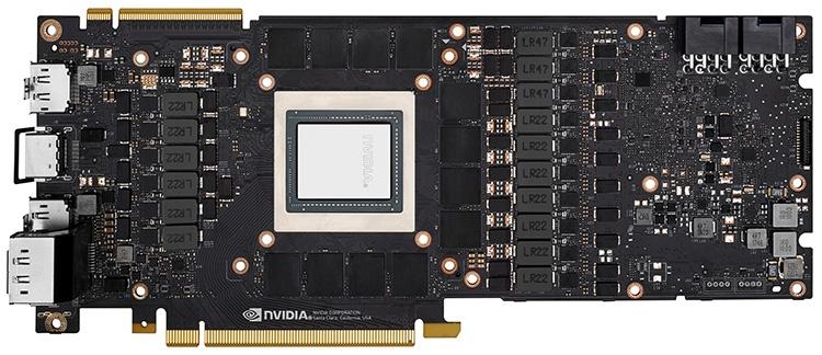 Референсная печатная плата GeForce RTX 2080 Ti