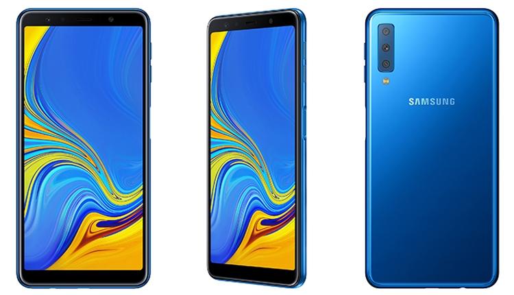 Samsung анонсировала свой первый смартфон с тройной камерой - Блог Scorpion81