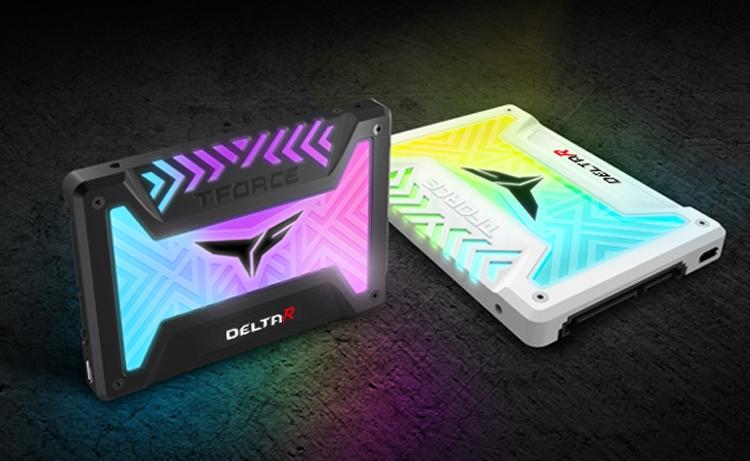 Team Group T-Force Delta R RGB: накопители SSD с подсветкой