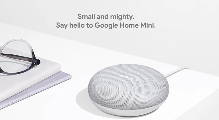 """Устройство Google Home Mini вышло в лидеры на рынке смарт-динамиков"""""""