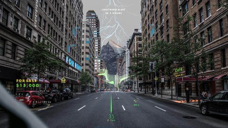 """Автомобили Hyundai получат навигационную систему дополненной реальности"""""""