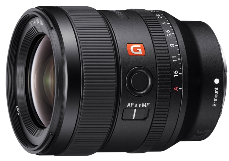 "Объектив Sony 24mm F1.4 G Master рассчитан на полнокадровые камеры"""