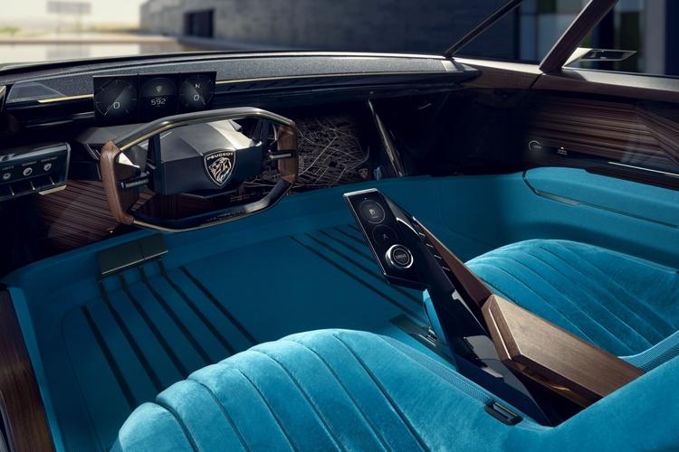 """Peugeot e-Legend: необычный концепт-кар с электроприводом и автопилотом"""""""