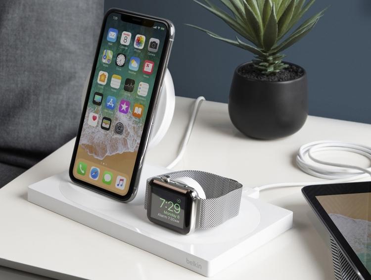 "Belkin Boost Up Wireless Charging Dock: станция беспроводной зарядки для iPhone Xs и Apple Watch"""