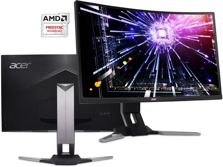 """Acer XZ1 Series: изогнутые мониторы для игровых систем"""""""