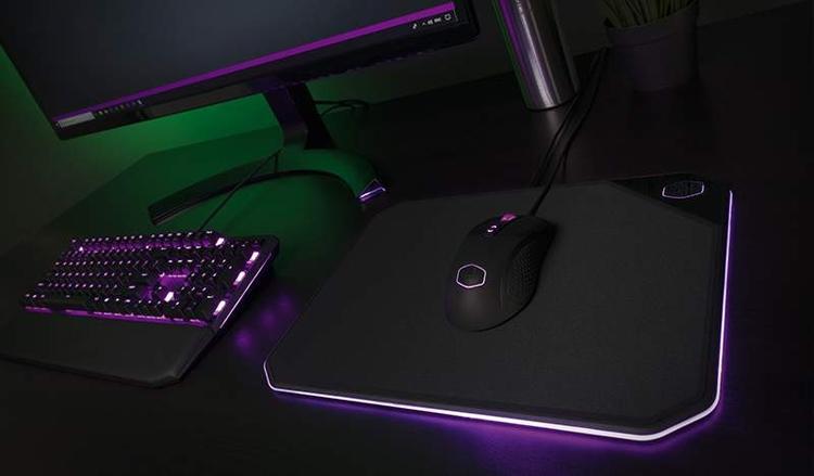 """Cooler Master MP860: коврик для мыши с RGB-подсветкой"""""""