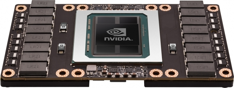 NVIDIA Tesla P100 (пример упаковки TSMC CoWoS, GPU и HBM)