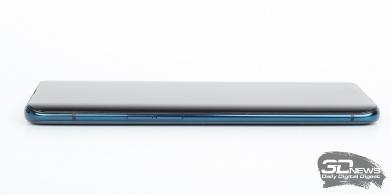OPPO Find X, левая грань: клавиши регулировки громкости/спуска затвора камеры