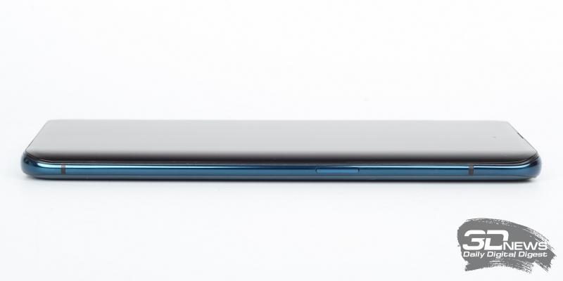 OPPO Find X, правая грань: клавиша включения смартфона