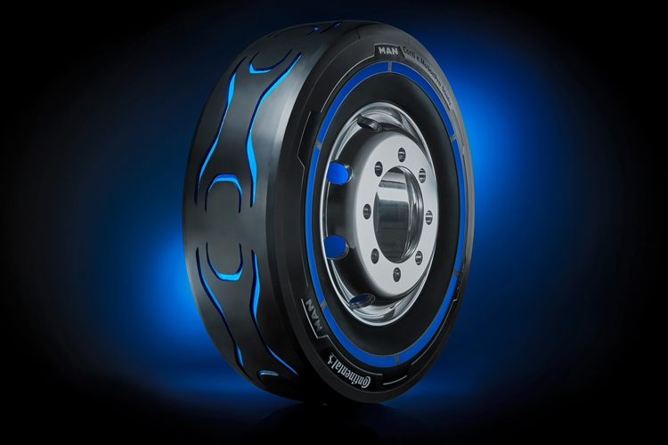 """Conti e.MotionPro: шины для электрических грузовиков"""""""