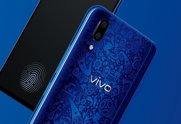Vivo представила экранный дактилоскопический сканер 4 поколения