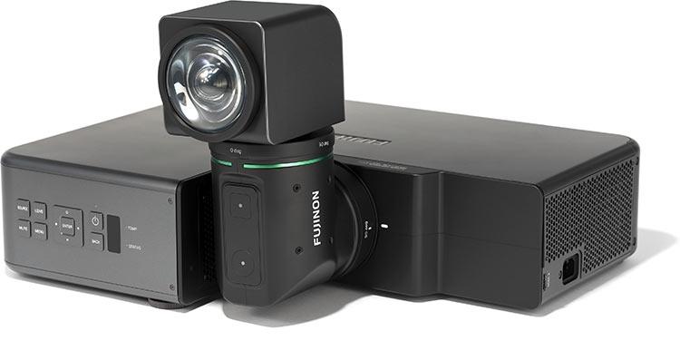 """Fujifilm представила свой первый проектор с уникальной конструкцией"""""""
