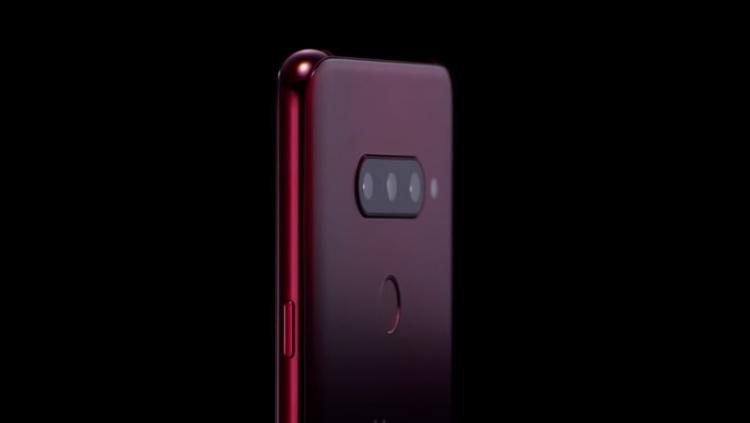"""LG опубликовала видео смартфона V40 ThinQ с пятью камерами"""""""
