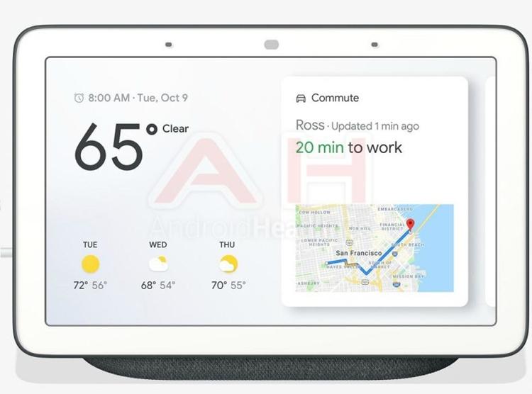 """Смарт-дисплей Google Home Hub показался на изображениях"""""""