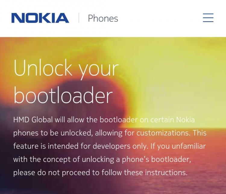 """На смартфоны Nokia можно будет ставить неофициальные прошивки"""""""