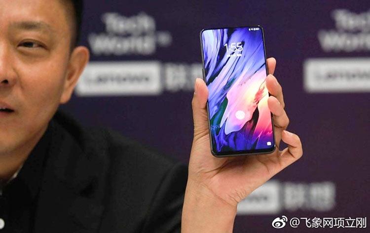 """Lenovo Z5 Pro получил безрамочный дизайн без выреза сверху"""""""