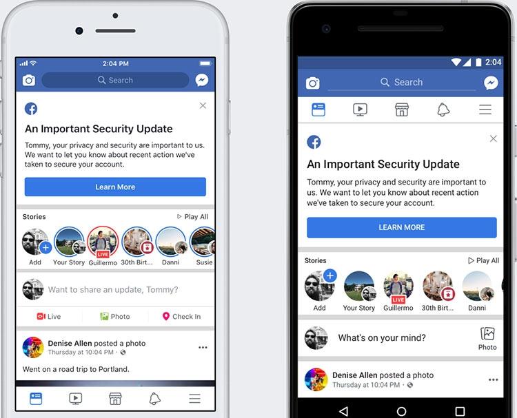 """Facebook заявила, что 90 млн пользователей могли пострадать от выявленной уязвимости"""""""