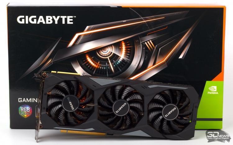Обзор видеокарты Gigabyte GeForce RTX 2080 GAMING OC 8G