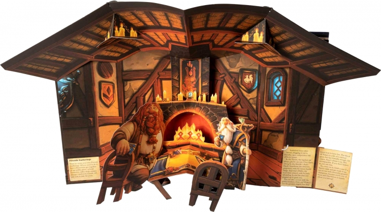 Blizzard выпустит книгу-раскладушку по мотивам Hearthstone