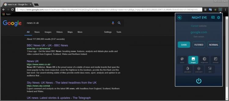 """ДляMicrosoft Edge доступен плагин, создающий тёмную тему оформления"""""""