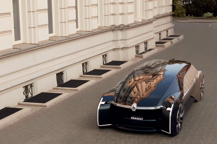"""Renault EZ-Ultimo: роботизированная «гостиная на колёсах» премиум-класса"""""""