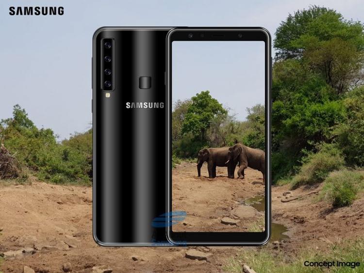 """Смартфон Samsung с «четырёхглазой» камерой обрастает деталями"""""""