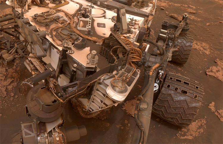 Марсоход Curiosity временно переключили надругой «мозг»
