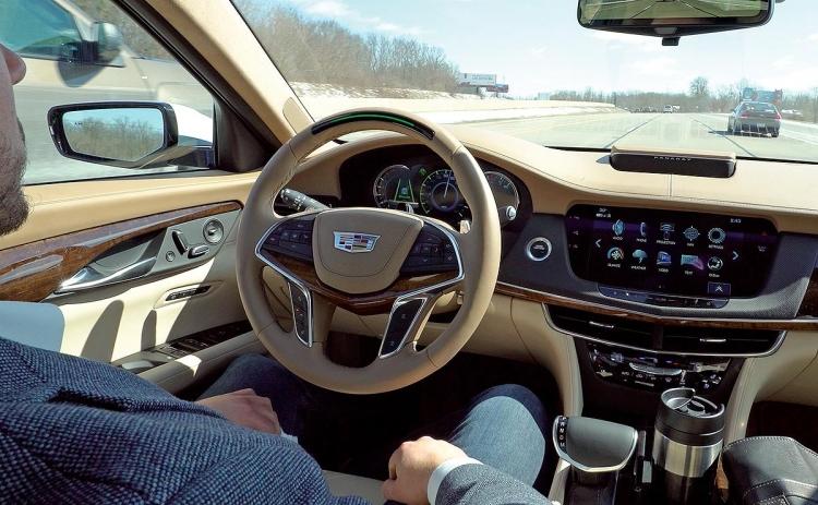 """Cadillac опередил Tesla в тесте системы полуавтоматического управления вождением"""""""