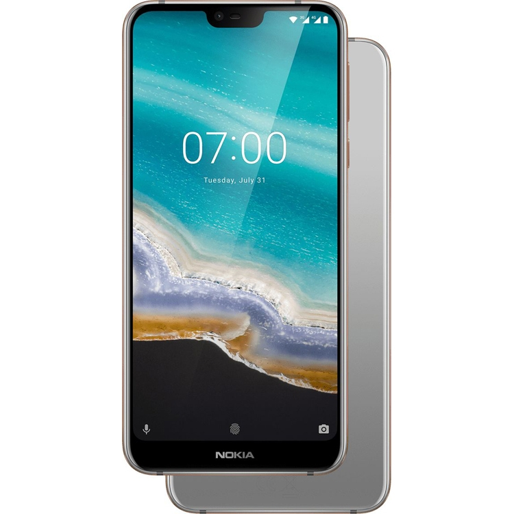 "Представлен смартфон Nokia 7.1 на базе Android One с двойной камерой"""