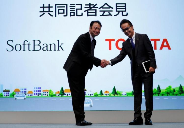 """Toyota и SoftBank сформировали альянс по развитию автомобильной электроники"""""""