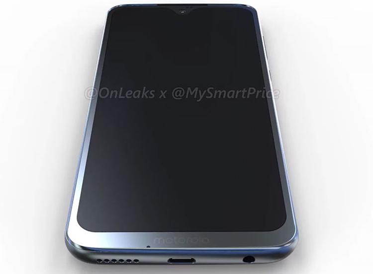 """Раскрыт дизайн Moto G7: смартфон получит каплевидный вырез в экране"""""""