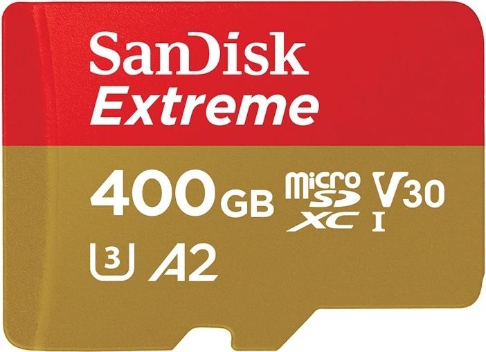 microSD-карта SanDisk Extreme с возможностями A2