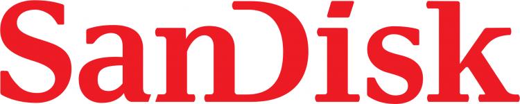 Логотип SanDisk, ретейл подразделения Western Digital