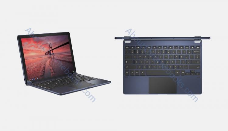 """На изображениях планшета Google Pixel Slate виден порт USB-C и круглые клавиши"""""""