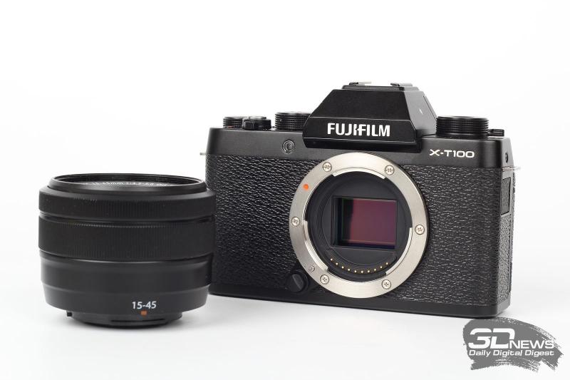 Обзор беззеркальной камеры Fujifilm X-T100: доступное ретро