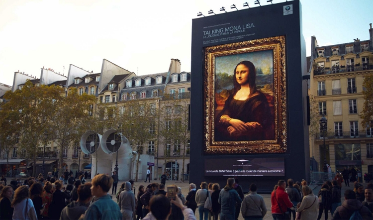 "Видео дня: смарт-ассистент BMW оживил «Мона Лизу»"""