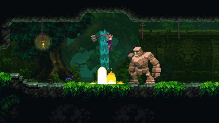 Приключенческий платформер Chasm завтра выйдет на Nintendo Switch