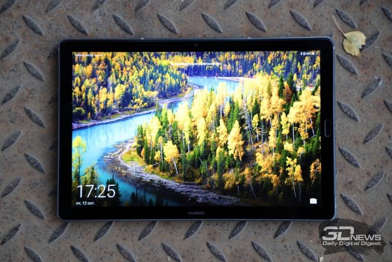 Обзор планшета Huawei MediaPad M5 10: хороший экран и бодрая начинка по разумной цене