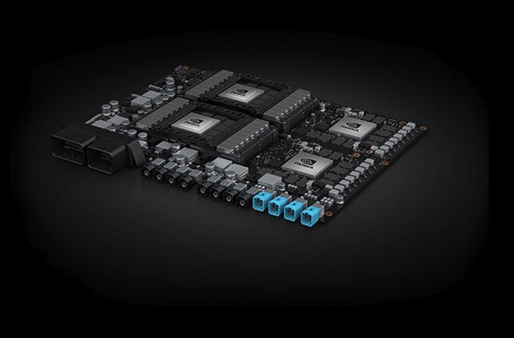 """Автомобили Volvo получат бортовой компьютер на платформе NVIDIA"""""""