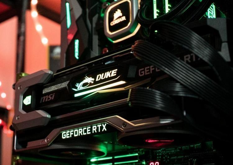 Две GeForce RTX 2080 Ti в связке NVLink: комфортный гейминг