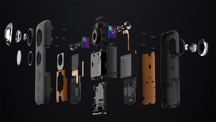 "Insta360 One X: мини-камера для круговой панорамной съёмки"""