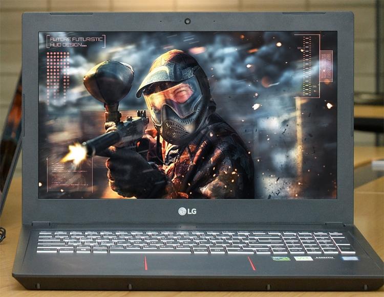 """Экран игрового ноутбука LG 15G880 обладает частотой обновления 144 Гц"""""""