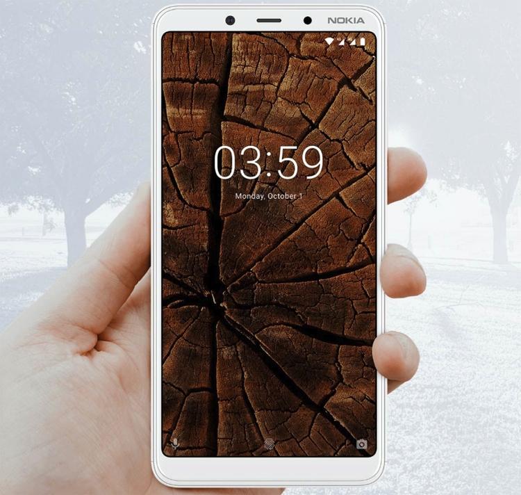 "Nokia 3.1 Plus: смартфон Android One с 6"" экраном HD+ и тремя камерами"""