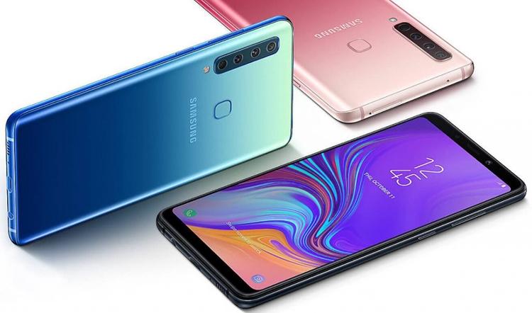 Samsung Galaxy A9: первый в мире смартфон с четырьмя ...
