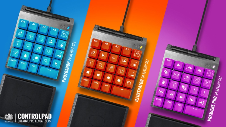 """Cooler Master ControlPad: панель управления для игроков и создателей контента"""""""