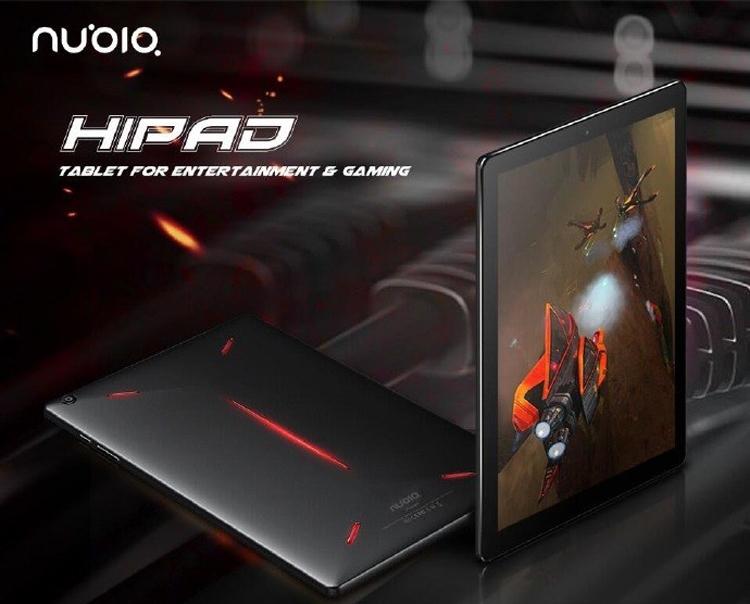 """Рассекречен планшет игрового класса Nubia Hipad"""""""