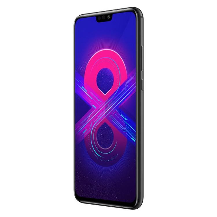 """В России представлен доступный смартфон Honor 8X с высокой функциональностью"""""""